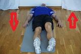 Hur blir man av med smärta i ländryggen, tiltning 2