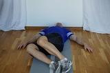 Hur blir man av med smärta i ländryggen, Sidofällning höger
